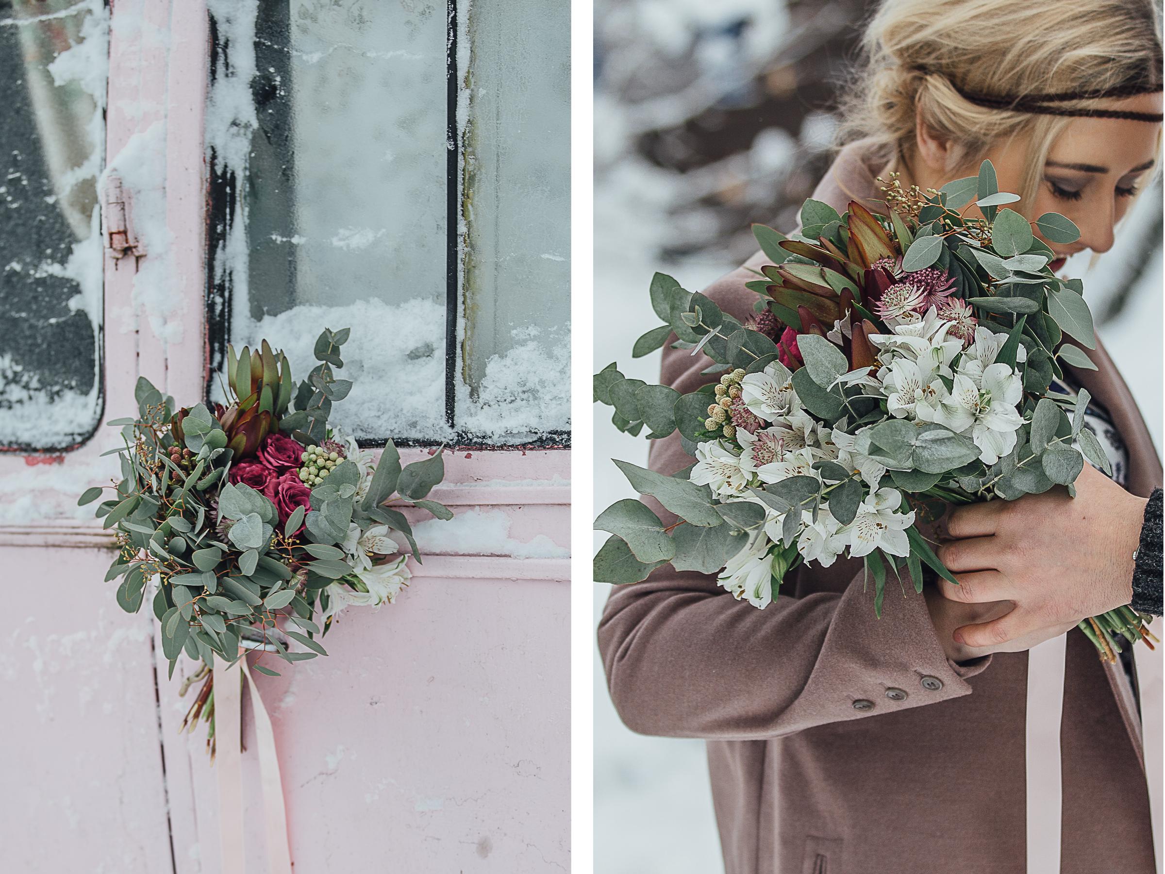 bryllup, vinter